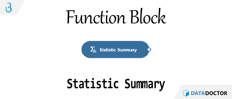 Br) 함수 블럭 - Statistic Summary